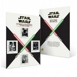 Collector de 4 timbres STAR WARS
