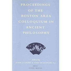 Proceedings of the Boston Area Colloquium in Ancient Philosophy: Volume XV (1999) - John J. Cleary