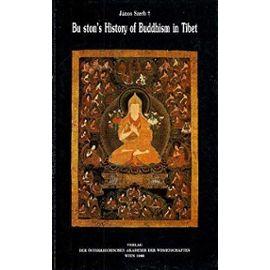 Bu ston's History of Buddhism in Tibet - Janos Szerb