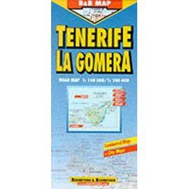 Tenerife and La Gomera (B&B Road Maps) - Collectif