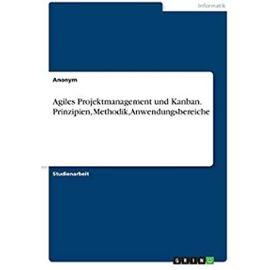 Agiles Projektmanagement und Kanban. Prinzipien, Methodik, Anwendungsbereiche - Anonym