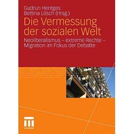 Die Vermessung der sozialen Welt - Gudrun Hentges