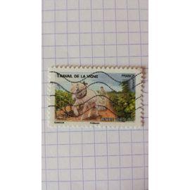 Lot n°601 ■ timbre oblitéré france autoadhésif n ° 822 ---- lettre verte 20g