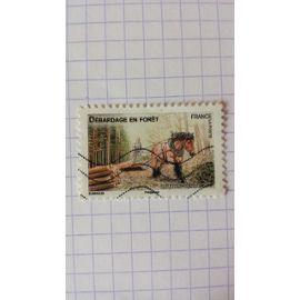 Lot n°603 ■ timbre oblitéré france autoadhésif n ° 824 ----- lettre verte 20g