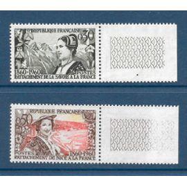 TIMBRES NEUFS DE FRANCE ANNEE 1960 N° 1246 1247