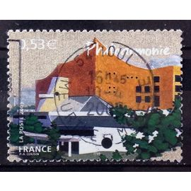 Capitales Européennes - Berlin - Philarmonie 0,53€ (Très Joli n° 3812) Obl - France Année 2005 - N27488