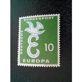 timbre ALLEMAGNE / RFA YT 164 Europa (C.E.P.T.) 1958 - Colombe 1958 ( 031212 )