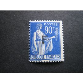 France neuf** - Franchise Militaire - 90 c Type Paix surcharge F - 1939