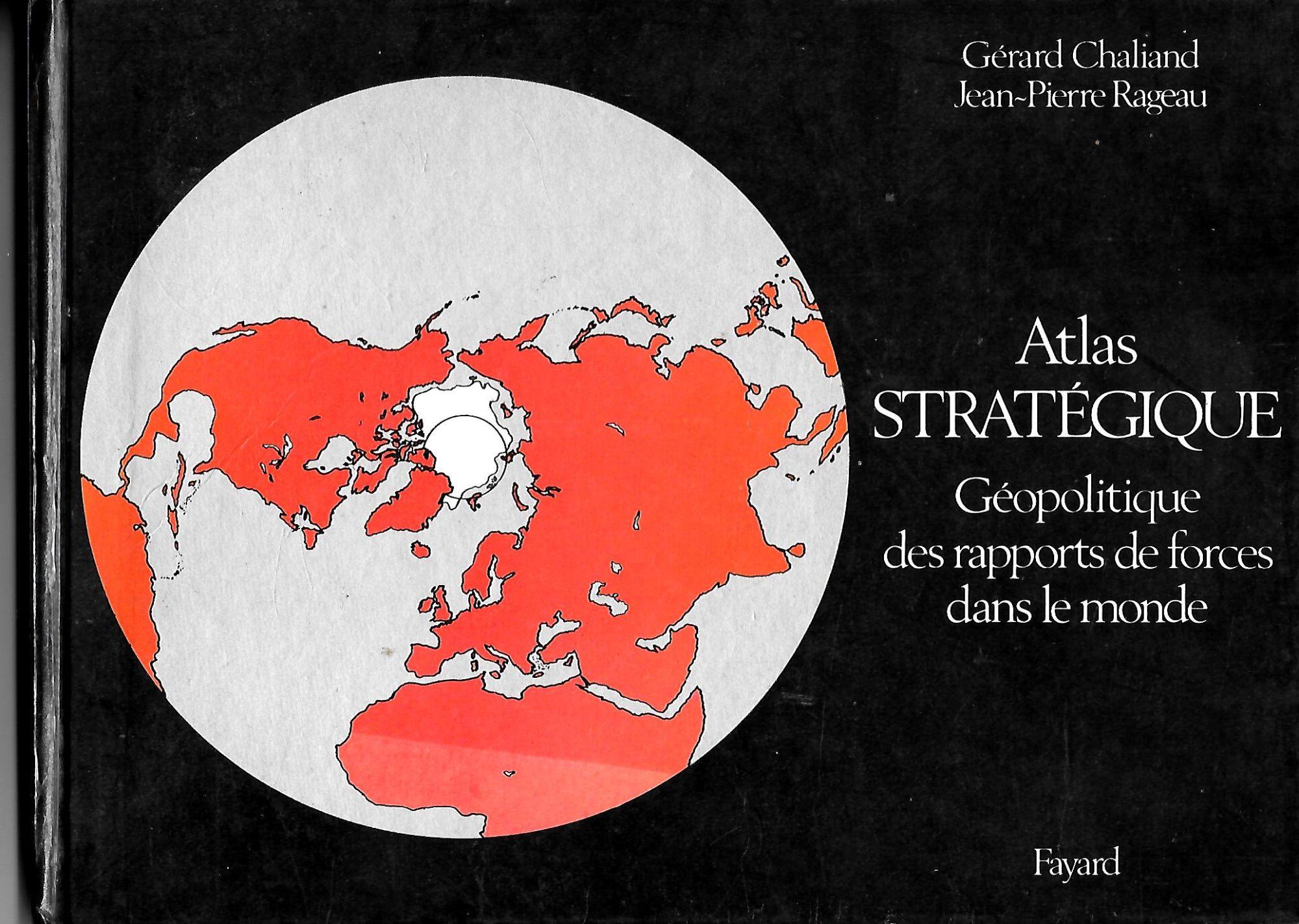 Couverture de Atlas strategique et geopolitique