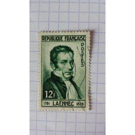 Lot n°645 ■ timbre oblitéré france n ° 936---- 12f vert-foncé