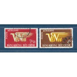 TIMBRES OBLITérés vietnam année 1952 POSTE Aérienne N° 1 ET 9