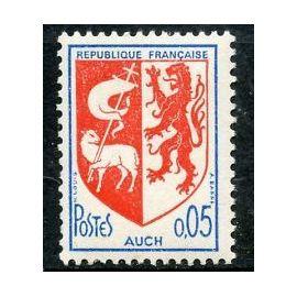 Timbre France 1966 Neuf ** YT N° 1468 Blason AUCH