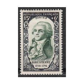 Timbre France 1950 Neuf ** YT N° 871 ROBESPIERRE
