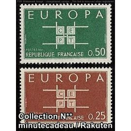 TIMBRE FRANCE / NEUF** / Y&T 1396 à 1397