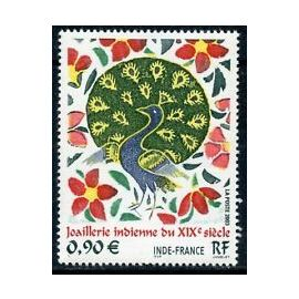 Timbre France 2003 Neuf ** YT N° 3630 Joaillerie Indienne du XIX siècle