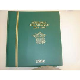 album tmbres france mémorial philatélique 1944-1994 trésor du patrimoine
