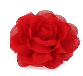 Generique Voile avec Rose Rouge espagnole Femme