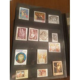 lot 13 timbres art religieux