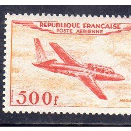 """Timbre neuf** de France n° PA32 Fouga """"Magister"""" ref FR15495"""