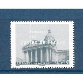FRANCE Année 2007 hommage aux justes de france , le panthéon n° 4000 neuf**
