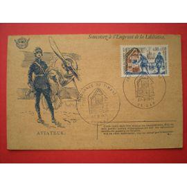 Journée du timbre 1971 - Carte postale - Correspondance des armées - Aviateur - Oblitération premier jour - Gap (05)