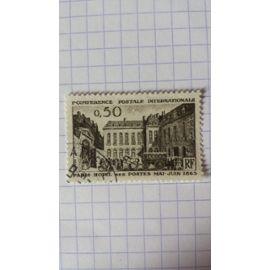 Lot n°705 ■ timbre oblitéré france n ° 1387 ---- 50c sépia
