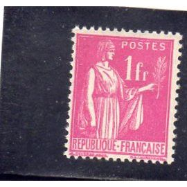 Timbre neuf* de France n° 369 Type Paix ref FR15706