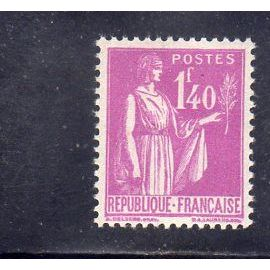 Timbre neuf* de France n° 371 Type Paix ref FR15773