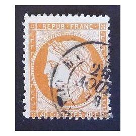 France oblitéré y et t N° 38 de 1870 type ceres du siège de Paris cote 10.00