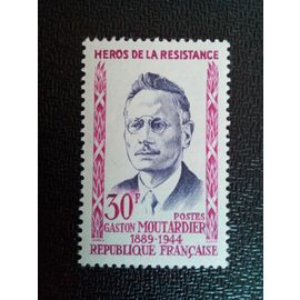 timbre FRANCE YT 1202 Gaston Moutardier (1889-1944) 1959 ( 041212 )