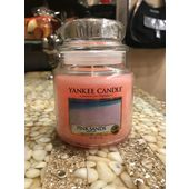 Yankee candle Moyenne Bougie Pink Sands 411 g bougie parfumée