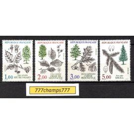 Flore et Faune de France. 1985. Y&T 2384 à 2387