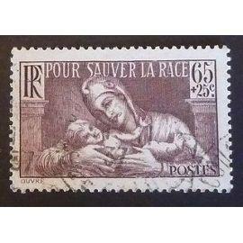 france oblitéré y et t N° 356 de 1937 cote 3.00