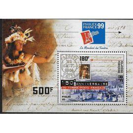 """POLYNESIE FRANCAISE 1999 : """"Philexfrance 99"""" : Exposition philatélique internationale, à Paris : Photo d"""