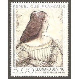 Série artistique : Vinci 5,00 f - 1986