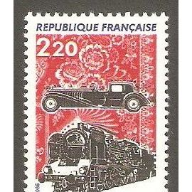 Musées techniques de Mulhouse 2,20 f - 1986