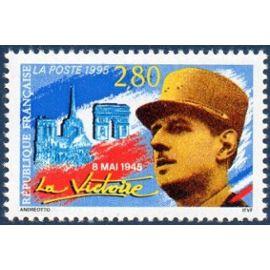 """Timbres 8 mai 1945 - """" la victoire """""""