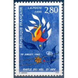 """Timbres Commémoration de la rafle du 16 juillet 1942 """"dite rafle du Vel d"""