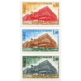 france 1977, très belle série neuve**/* timbres de service du conseil de l