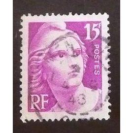 france oblitéré y et t N° 727 de 1945 cote 2.50