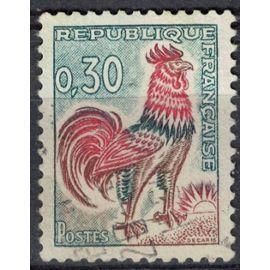 France 1965 Oblitéré Used Coq de Decaris 0F30 Y&T 1331 SU