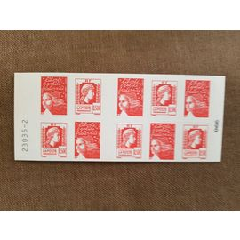 Carnet de timbres Marianne Prioritaires