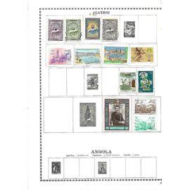 algérie : 13 timbres anciens oblitérés