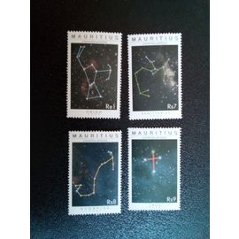 timbre ILE MAURICE YT 999 a 1002 Séries: Constellations 2002 ( 040104 )