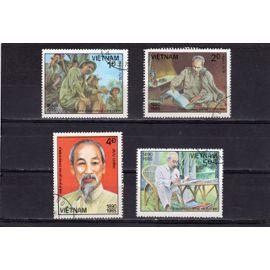 Timbres-poste du Vietnam (95ème anniversaire de la naissance d'Hô Chi Minh)