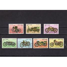Timbres-poste du Vietnam (Centenaire de la motocyclette)