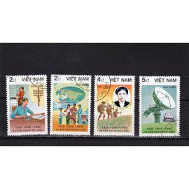 Timbres-poste du Vietnam (40ème anniversaire des postes vietnamiennes)