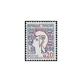 Timbre Marianne de coteau 1961