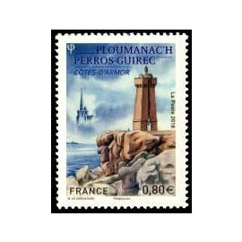 le phare de ploumanac île de perros guirec (côtes d