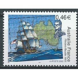 Australie France, portrait de M Flinders et l